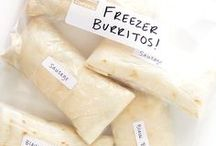 Make ahead and Freeze / Freezer recipes