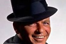 """Old Blue Eyes / Frank Sinatra, """" The Chairman of the Board """" was a master. His voice was his instrument and he played it with his whole heart and soul.His charm, charisma and style ensure eternally his place in our hearts throughout all ages. Born: December 12, 1915, Hoboken, NJ Died: May 14, 1998, West Hollywood, CA."""