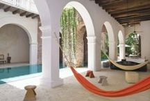 Hacienda & Moroccan Style Homes / Ideas for my beach bach!