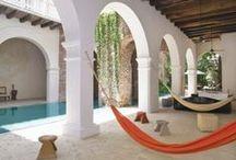 Hacienda & Moroccan Style Homes / Ideas for my beach bach!  / by Siriporn Falcon-Grey