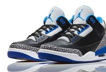 Air Jordan shoes for boys and girls / Good shoes for sports! / by Leighton Fosberg