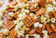 Popcorn, Nuts & Chips