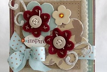 "Cards, Crafts & Inspiration... / This is the ""go to"" board for all things crafts,  handmade cards, scrapbook pages, inspiration, beautiful craft ideas, diy and all things regarding crafting!  / by Two Pink Peas"