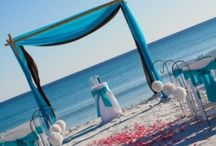 Wedding/Events- Beach themed / All those cute little ideas one has for beach or seaside themed events or weddings / by Kim Hine