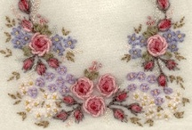 A1 Crewel/Embroidery/Silk Ribbon/Needlework/Embellishments / by Cathleen Capriotti
