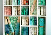 Organize Your Beads / Clever storage ideas for your beads, tools and jewelry making supplies.