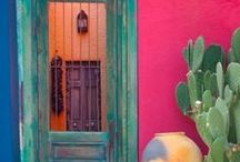 The New Southwest / Decor and more - the Southwest has become more refined and yet stays true to its colorful roots...making it a real option for designers