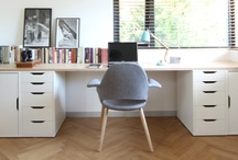 HOME - work spaces / by amy