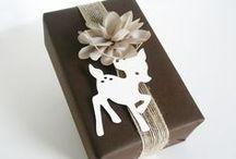 Geschenke hübsch verpackt / by Juniliebe <3