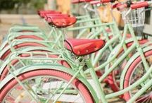 ~Bicycles~ / Life is like riding a bicycle. In order to keep your balance. You must keep going