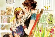 ~Mothers and Daughters~ / A daughter is just a little girl, who grows  up to be your best friend.