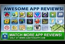 Video App Reviews / The Best Mobile App Reviews for your iOS and Android Devices on YouTube! / by I Use This App
