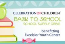 COCs Annual Drives / Celebration Of Children hosts 2 Annual Drives. School Supply drive in the Summer and Diaper Drive around Thanksgiving. http://celebrationofchildren.wordpress.com/annual/