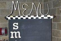 Chalking it Up Chalkboard Designed