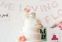 Bruidstaarten en -cakes / De mooiste bruidstaarten, -cakes, taarttafels, etc. Heerlijk snoepen op je bruiloft!