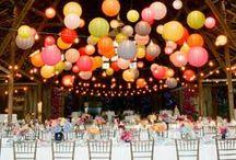 Inspiratie: Kleurrijke bruiloft