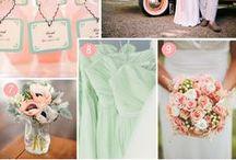 Inspiratie: Mint, perzik, goud / Mint, perzik en goud: de trendkleuren voor de lente!