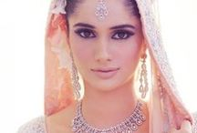 Beautiful Desi Brides / Stunning Pakistani/Indian women who are glamorous in their wedding gowns.