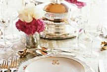 Tablescapes & Centerpieces / Fleurs & such for Fêtes / by Alexandra Tarleton Mirante