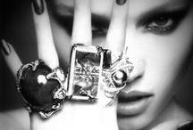 Stunning Rings / I LOVE rings so this is a collection of some amazing ones I've come across.
