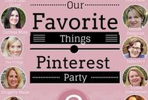 Our Favorite Things Pinterest Party - My 6 / Here are my 6 pins!