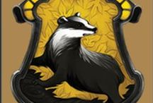 Proud to be a Hufflepuff / Celebrating my Badger Pride.