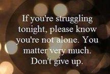 Hope, Support, & Encouragement