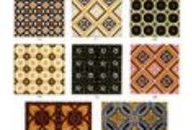 DoverPictura Tile Designs / Beautiful Royalty Free Clip Art / by Dover Publications