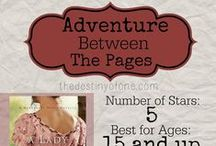 Adventure Between the Pages / Book reviews I have done