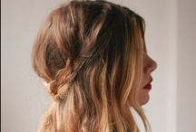 .hair. / .some ways to tame that mess.