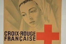 Affiches historiques Croix-Rouge / historical posters from the Red Cross