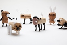 Wine Bottle & Cork Crafts / Now you have an excuse to drink more wine - crafts!
