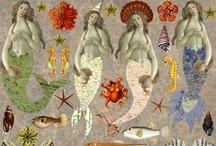 Mulher com rabo de peixa
