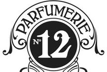 Parfumerie No. 12 / Spectacular perfume bottles, all things fragrance- & scent-related.