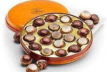 """Chocolate Lovers Unite! / What's better than gourmet chocolate? Delectable chocolate in a gift basket, or tantalizingly displayed as a gift - it's hard to say no! And so easy to say, """"Yes, yes, yes...."""""""