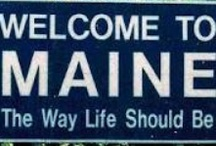 Maine! / The way life should be and the home of Acorn. / by ACORN