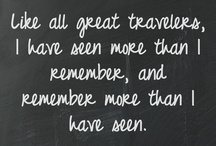 Inspiring Quotes for Travellers