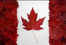 Canadiana, eh. / Canada, eh! My home and native land. The true north, strong and free. / by Joni Lavender-Sexsmith