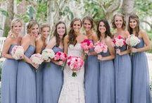 Damas de honor en bodas / by Anetha Healer