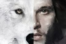 Game of Thrones Digital Art / Your digital art is always outstanding. We have been searching the web for all of your #gameofthrones creations. Are you using #Wacom? Tag #madewithwacom if so. Keep the creations coming! #GOT #JonSnow / by Wacom