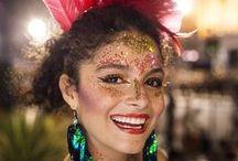 Fantasia de carnaval + Blocos + Festas / Fantasias para se inspirar e fazer em casa! Ideais para pular o carnaval nos bailes e nas ruas do Brasil inteiro. #blocos #carnaval #brazil #fantasia