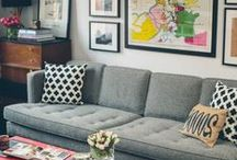 Home - Living Room Overhaul / by Jessica Dearinger