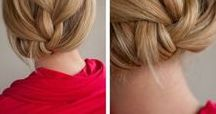 Kid Hair / I love these simple hairstyles for kids. And you don't need a masters degree in hair to help your kids look just a little more put together.