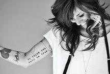 Tattoos / by Erin Gathercoal