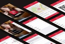 App Interfaces / Interesting and inspiring User Interface and User Experience designs for iOS and Android