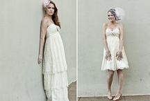 Convertible wedding gowns