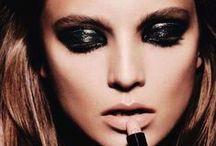 Hair & Make-up Gorgeous / Des make-up pour les soirs de star : des yeux de velours mystérieux, des bouches sexy, des mains de porcelaines