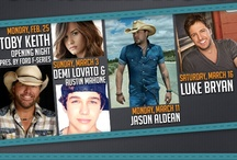 2013 Entertainment Lineup / by RODEOHOUSTON