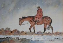 horses & riders in art 1 closed