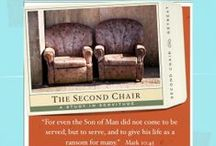 Second Chair Retreat Slides / Three part teaching on Servitude. The Second Chair, The Easy Chair, and The Love Seat.